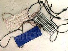 3vrstvá textilní rouška pro děti i dospělé