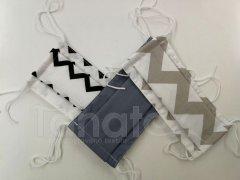 Textilní rouška 2vrstvá KLASIK pro dospělé klasik