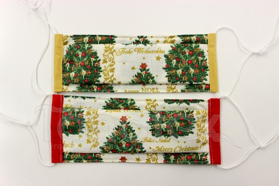 Rouška - Vánoční stromky