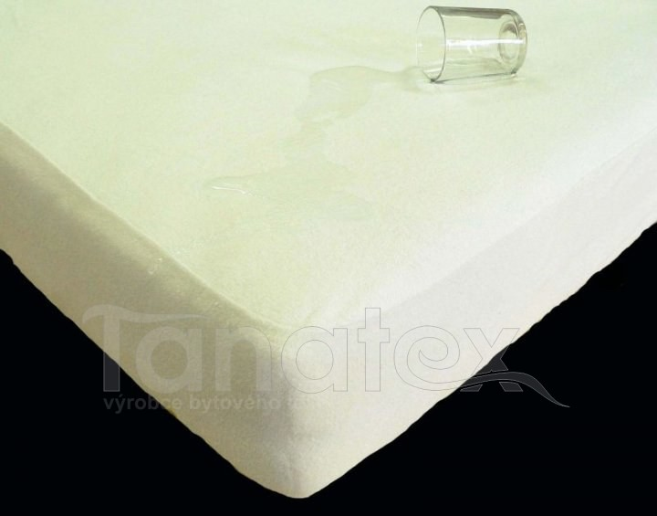 Prostěradlo s polyuretanem ve froté provedení