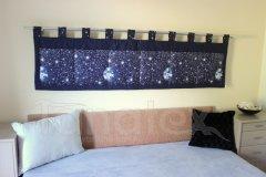 Kapsář - Tmavě modrý - vesmír kapsář velký