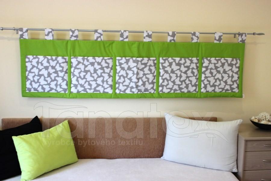 Kapsář - Kiwi zelený - šedí motýlci - kapsář velký