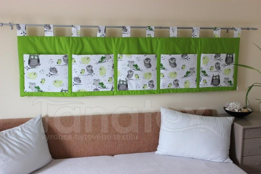 Kapsář - Zelený - zelené sovičky - kapsář velký