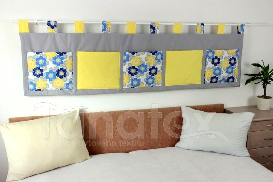 Kapsář - Modrožluté léto se žlutými kapsami na žluté