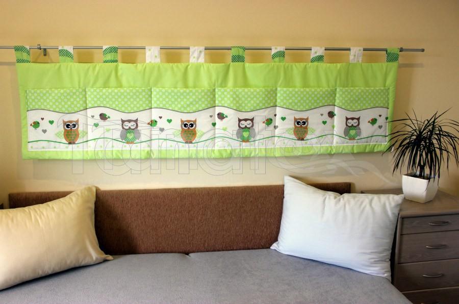 Kapsář - Zelené sovičky - kapsář velký