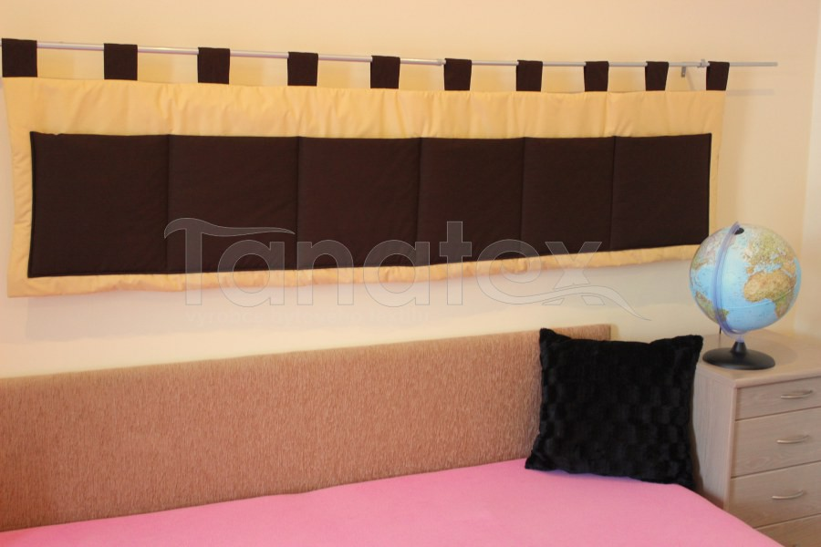 Kapsář - Uni pískový - hnědé kapsy - kapsář velký