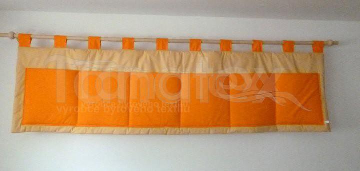Kapsář - Uni oranž - béžový - kapsář velký