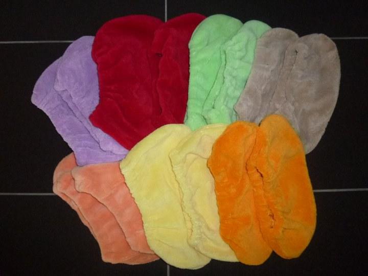 Návleky na ponožky- vel. 1