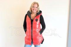 Luxusní dámská vesta - PL - oranžová Dámské oděvy