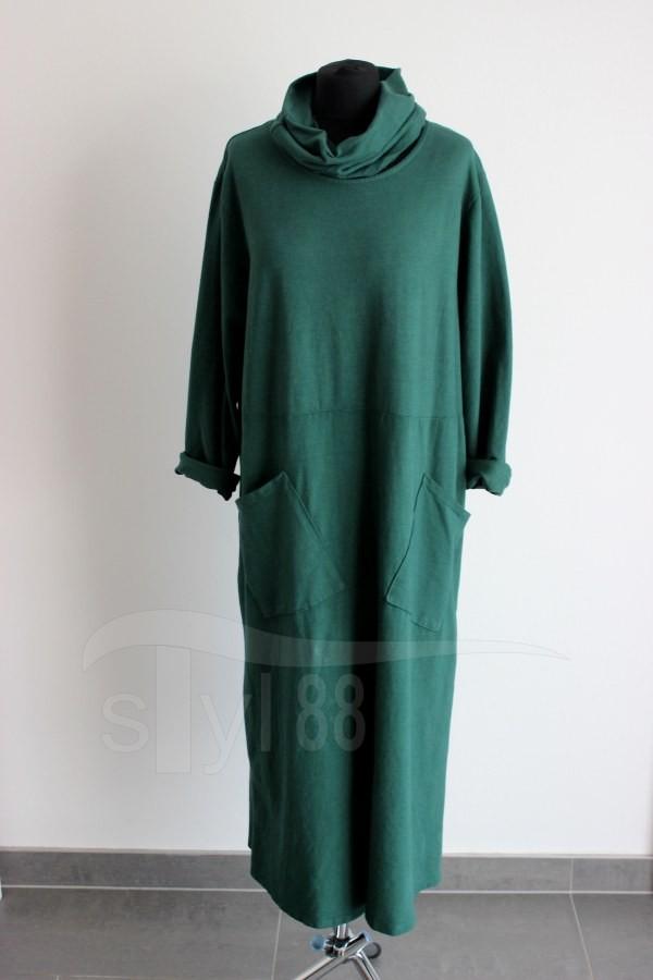 Šatotunika smaragdově zelená - Šatotuniky