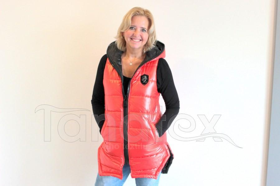 Luxusní dámská vesta - PL - oranžová - Dámské oděvy