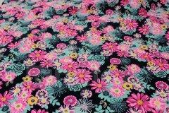 Tunel Pestré květy růžovotyrkysové Pelech - Tunel
