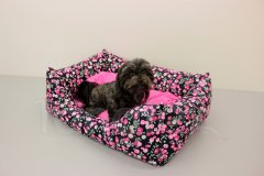 Obdelníček malý Bobule - polštář růžový Pelech - Obdelníček