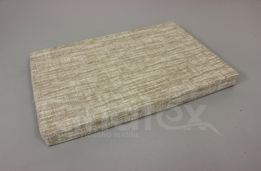 Vyšší podložka - 60x90cm béžový melír