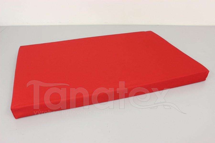Vyšší podložka - 40x60cm uni červená
