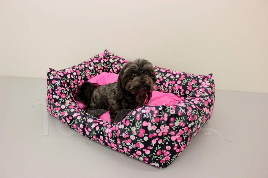 Obdelníček malý Bobule - polštář růžový - Obdelníček