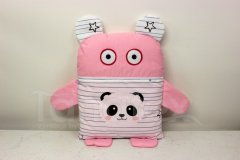 Pyžamožrout - Růžový s pandou