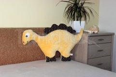 Polštářek mikro nebo bavlna dinosaurus banánový Zvířátka