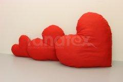 Polštářek srdíčko - velké Srdce a pro zamilované