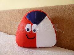 Polštářek - bavlněný malý Pou - Čech Polštář POU - Pou polštářek malý - Pou malý - klasik