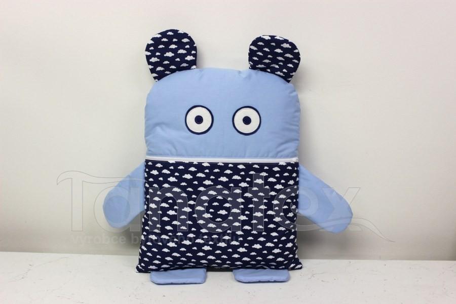 Pyžamožrout - Modrý s mráčky - Pyžamožrout - Žrout snů