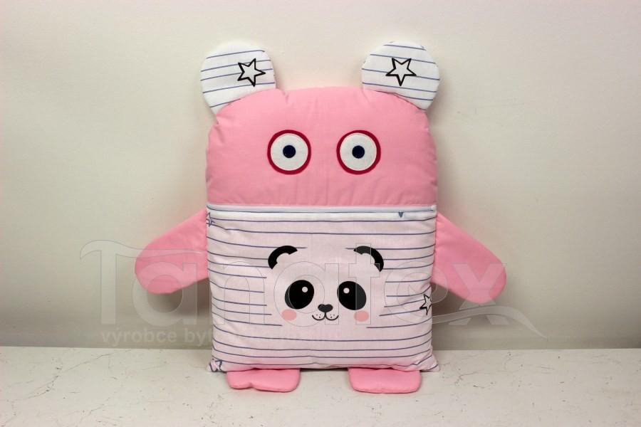 Pyžamožrout - Růžový s pandou - Pyžamožrout - Žrout snů