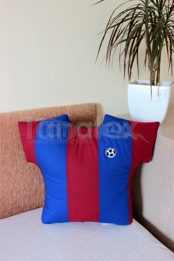 Polštářek - malý dres Barceloňák - Pro sportovce a fanoušky