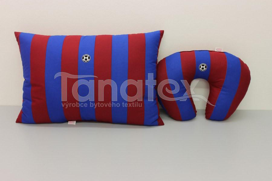 Polštářek - 40x60 Sportovec Barceloňák - Pro sportovce a fanoušky