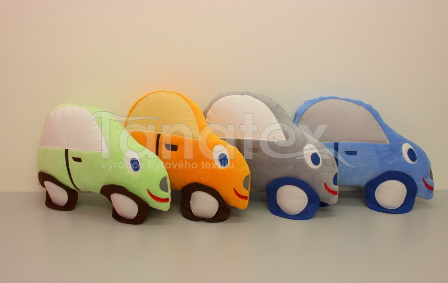 Polštářek mikro autíčko