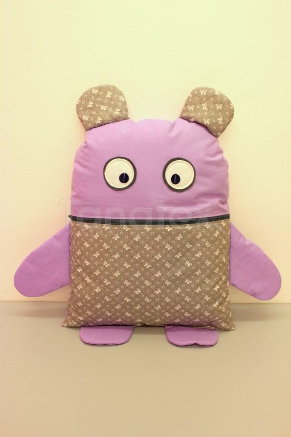 Pyžamožrout - Strašidýlko fialové s mašličkama - Pyžamožrout - Žrout snů
