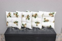 Sedák vánoční Větvičky v bílém Sedáky na Vánoce