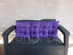 Sedák uni tmavě fialový sedák klasik
