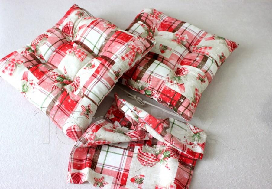 Vánoční povlak vánoční mašličky