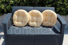 Sedák kulatý - pískový sedák kulatý