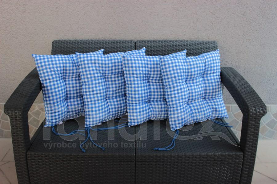 Sedák Modrá a bílá kostka - sedák klasik