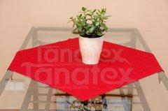UBRUS 50x100 - teflon červený 7344 - 50x100 ubrus klasik - ubrus 50x100