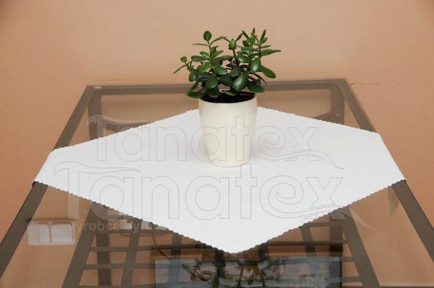 UBRUS 30x60 - teflon bílý 30x60 - ubrus 30x60