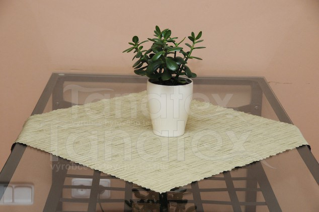 UBRUS 140x180 - melír olivově zelený - ubrus 140x180