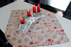 Ubrus Sovičky Vánoční ubrusy a šály