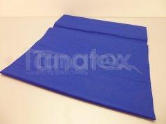 Prostěradlo na gumu královsky modré v25 200x200 Plátěná prostěradla - napínací do gumy - 200x200 - barevné