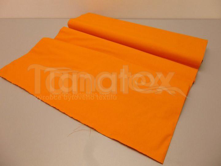 Prostěradlo na gumu oranžové v8 200x200 - barevné