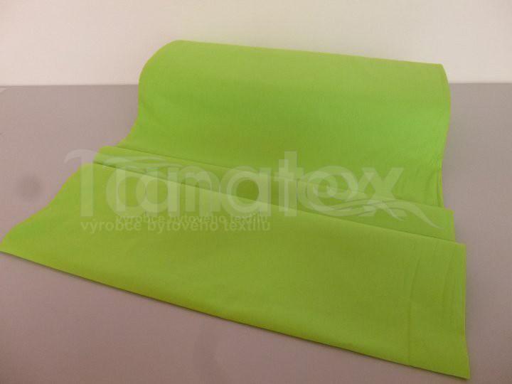 Prostěradlo na gumu zelené v11 160x200 - barevné