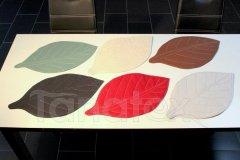 Prostírání list textilní prostírání na stůl