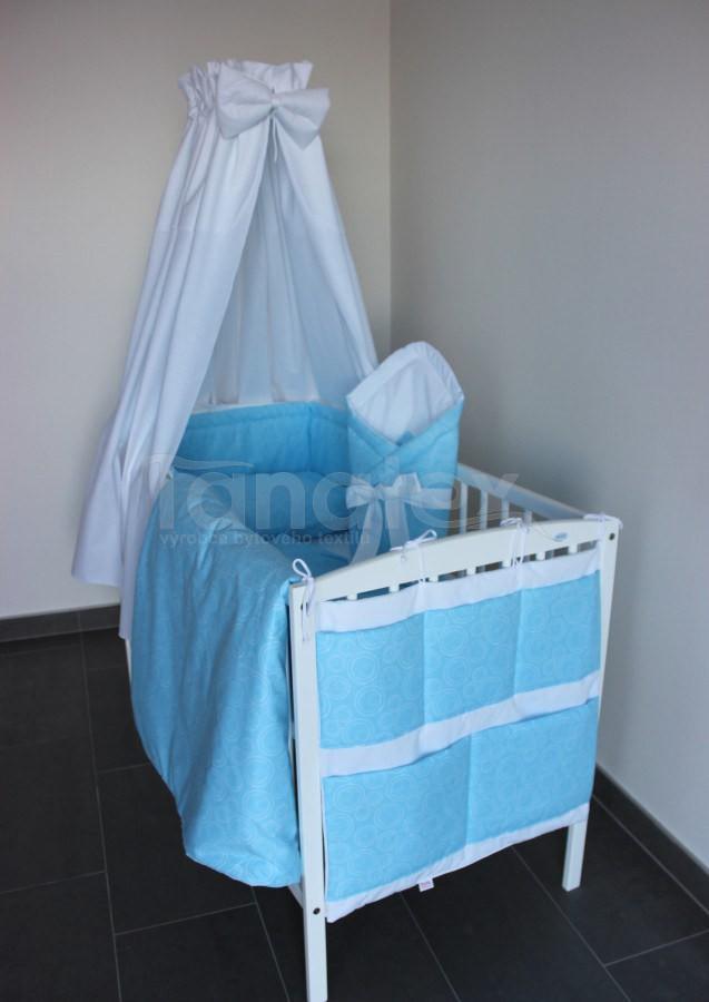 5 ti dílná sada Spirálky modré - Zvýhodněné sady pro miminko