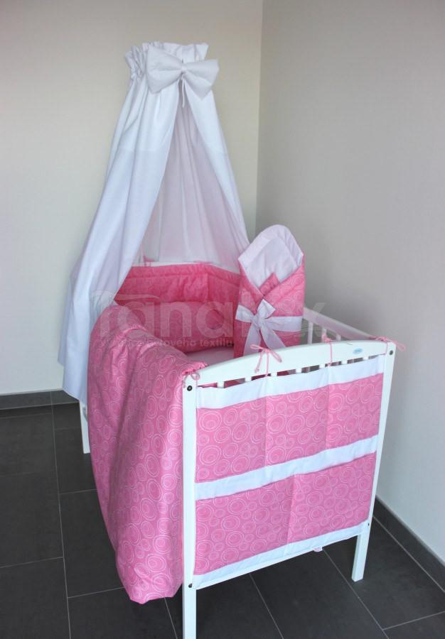 5 ti dílná sada Spirálky růžové - Zvýhodněné sady pro miminko