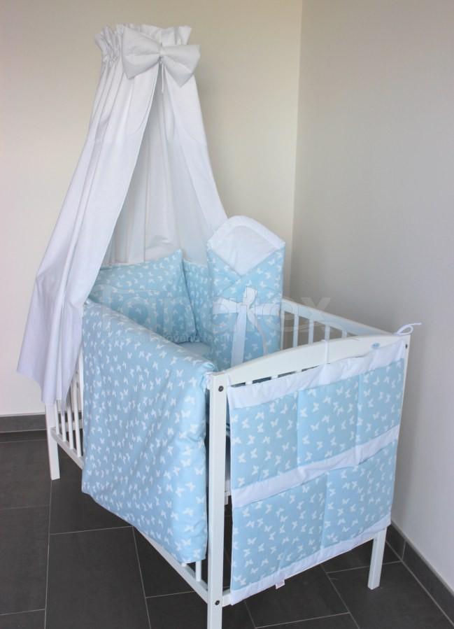 5 ti dílná sada Modří motýlci - Zvýhodněné sady pro miminko