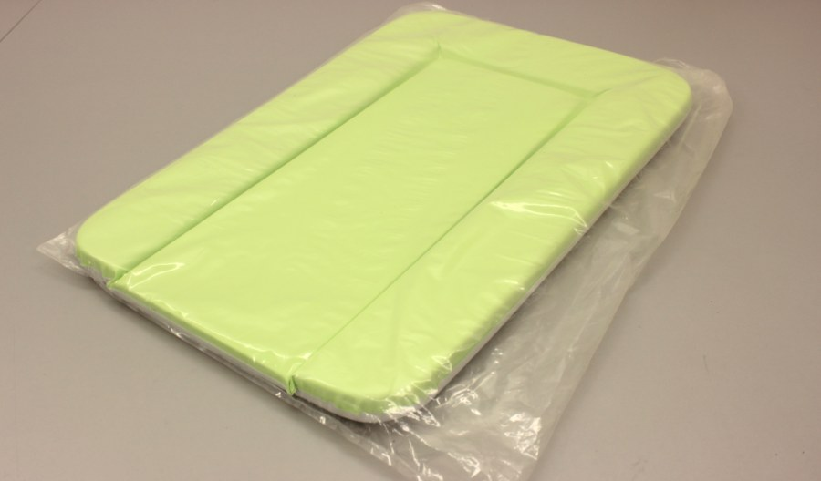 Přebalovací podložka 50x72 zelená