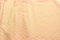 Metráž Světle růžová se štykováním metráž - Bavlna - bavlna se vzorem