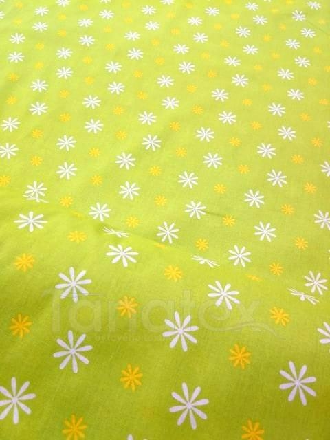 Metráž 150cm Zelená louka - bavlna se vzorem