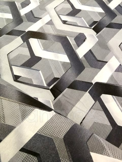 Povlak Šedočerné tvary